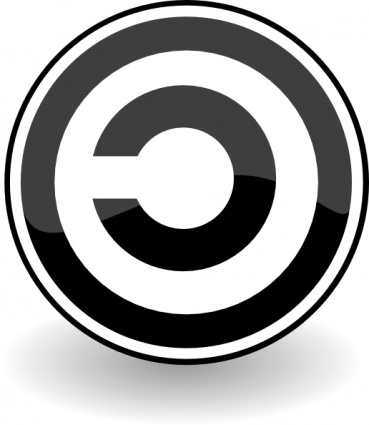Copyleft clip art Free Vector.