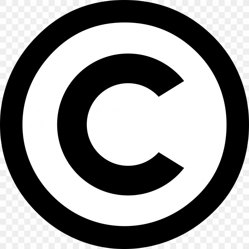 Copyright Symbol All Rights Reserved Logo, PNG, 2000x2000px.