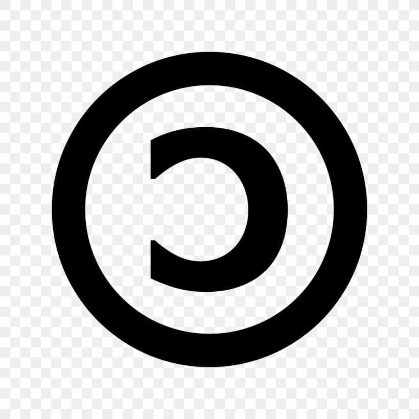 Sound Recording Copyright Symbol All Rights Reserved Clip.
