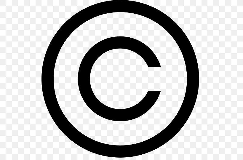 Copyright Symbol Clip Art, PNG, 540x540px, Copyright Symbol.