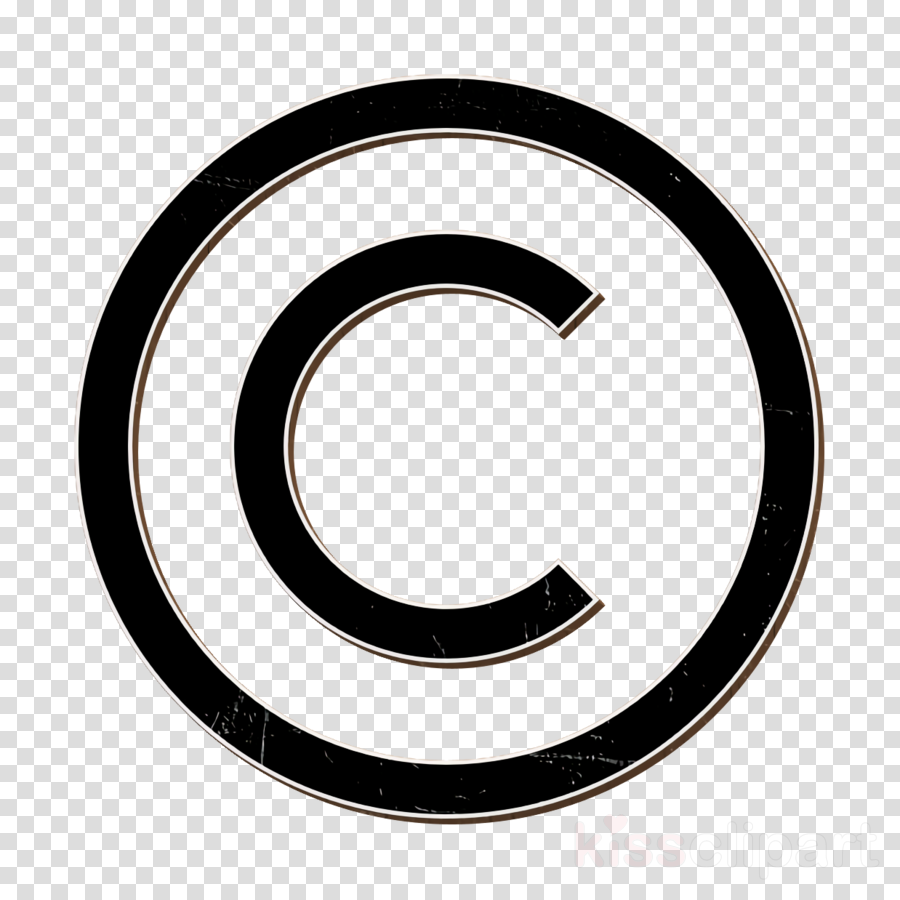 Marketing icon Copyright icon clipart.