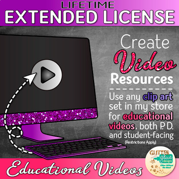 LIFETIME EXTENDED LICENSE FOR EDUCATIONAL VIDEO USE: CREATE YOUR OWN.