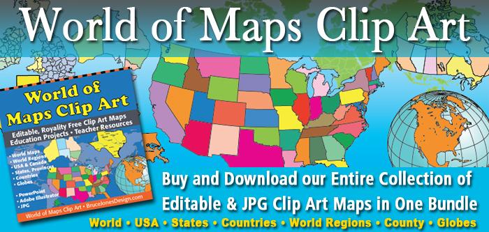 Printable, Blank World Outline Maps • Royalty Free • Globe, Earth.