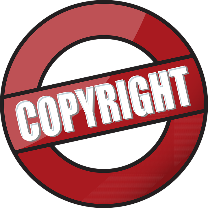 Copyright Icon Symbol.