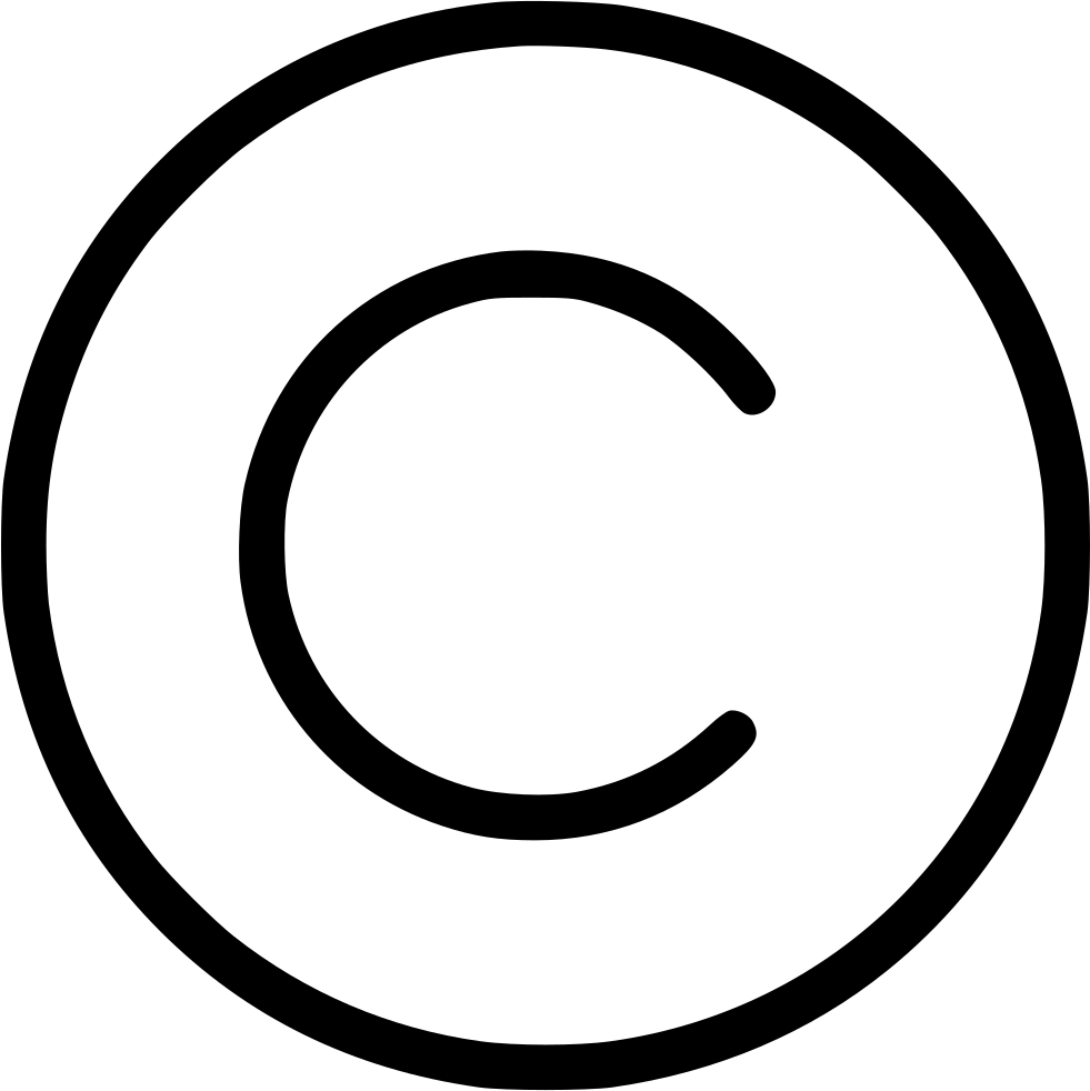 Copyright Svg Png Icon Free Download (#545095).