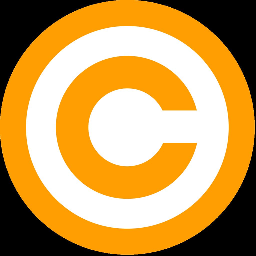 File:Orange copyright.svg.