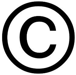 Copyright Icon #131039.