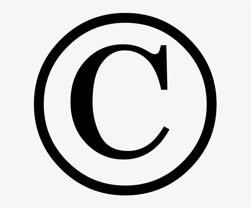 Copyright Symbol Transparent Background Png.