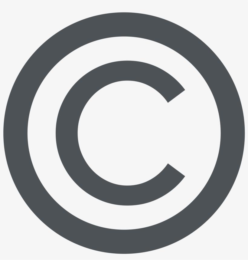 Copyright Symbol Transparent Image.