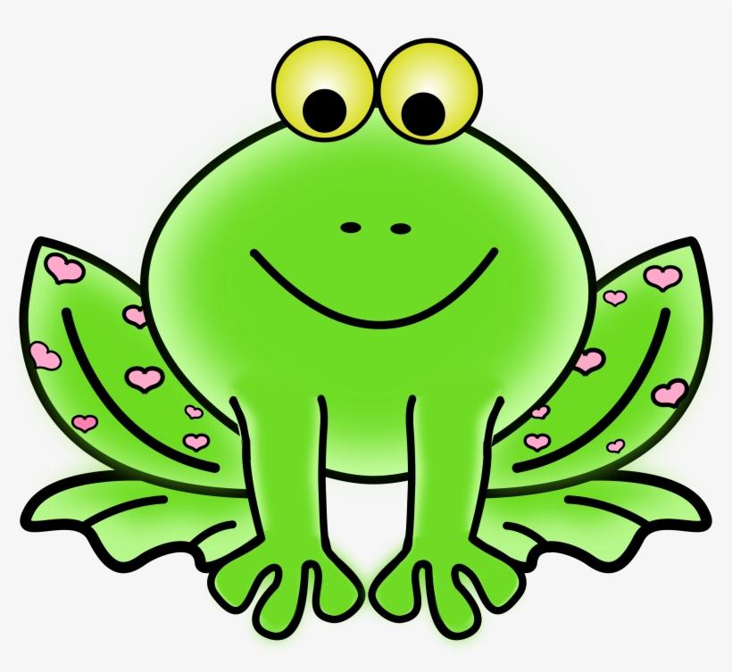 Green Frog Clipart Transparent Background.