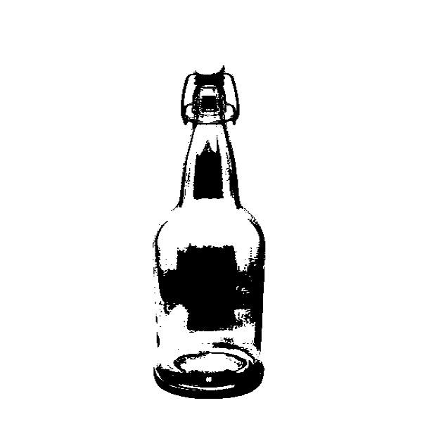 16 oz bottle of Coquito.