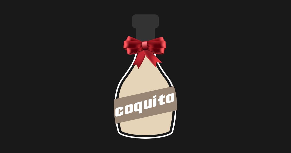 Puerto Rico Coquito Bottle Navidad by puertoroc173.