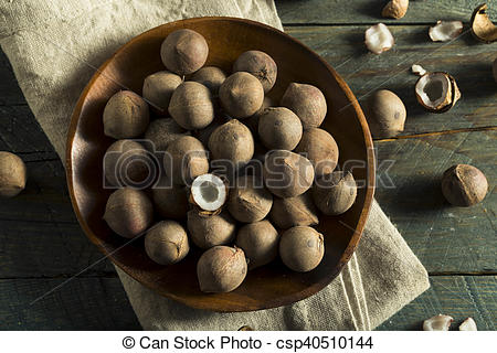 Raw Organic Coconut Coquito Nuts.