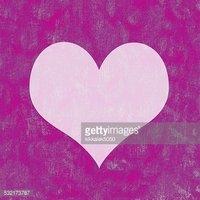 Fundo Grunge Roxo Com Espaço DE Coração Branco imagens.