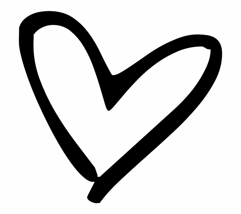 Tumblr Black Heart Png.