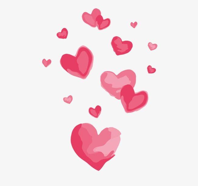 Heart Love, Heart Clipart, Heart, Pink PNG Transparent Image.