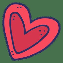 Desenho de coração.