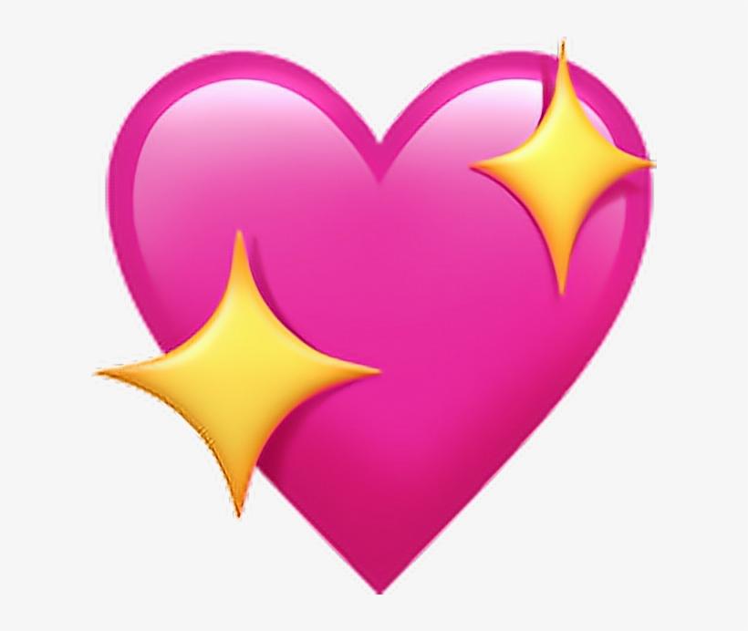 Emoji Emojicoração Coração Emoticons Heart Png Pngs.
