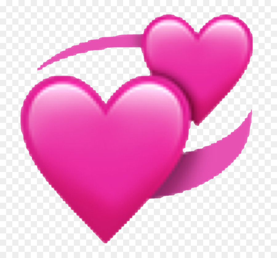 Emoji Iphone Love png download.