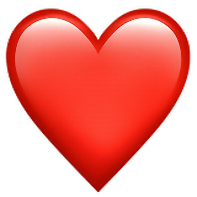 Discover the coolest #redheartemoji #red #heart #emoji stickers.