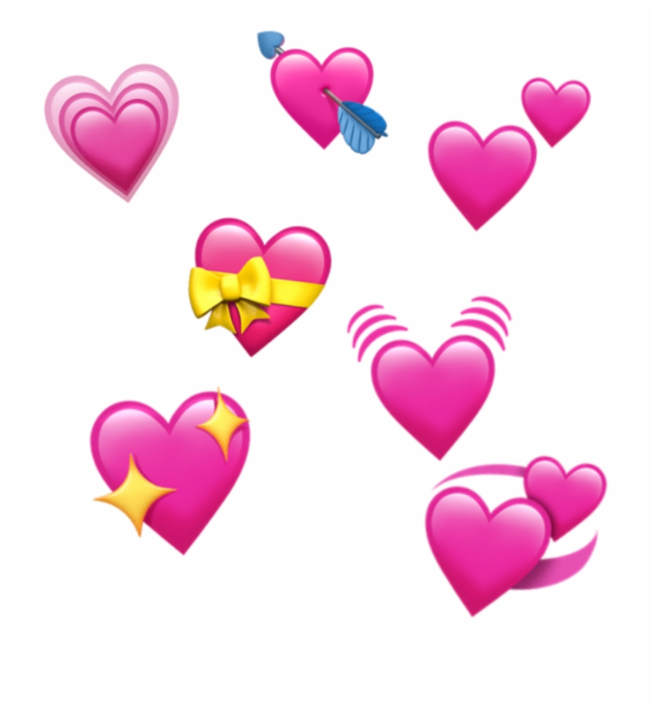 Freetoedit Edit Emoji Apple Ios Iphone Heart Spreadlove.