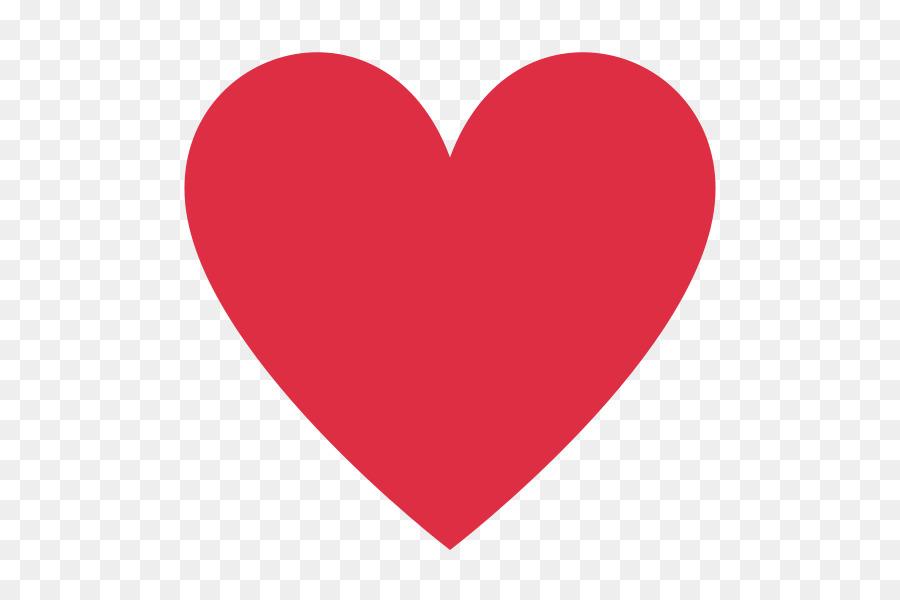 Love Heart Emoji png download.