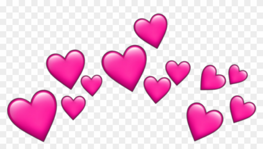Crown Dudahmt Tumblr Coração Heart Emoji Rosa Pink.