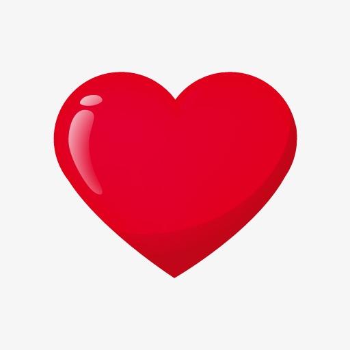 Coração Vermelho, O Amor, Coração Vermelho, O PNG Imagem para.