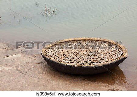 Coracle clipart #17