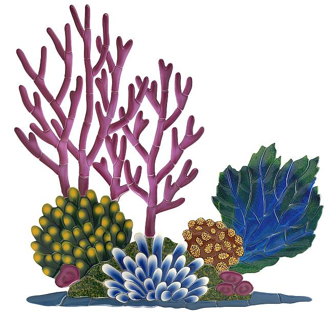 Red Velvet Coral Clipart.