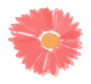 Coral Flower Clipart.
