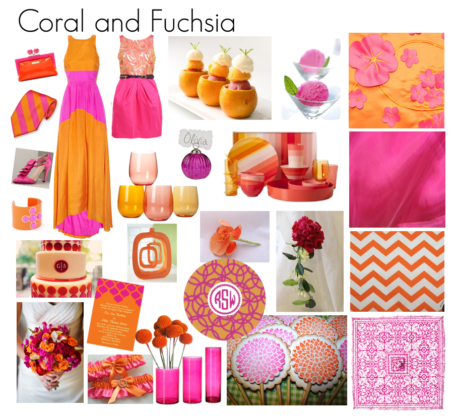 Friday Favorites: Coral and Fuchsia!.