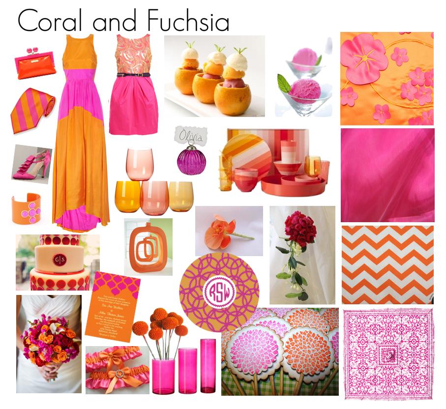 Coral fuchsia clipart #14
