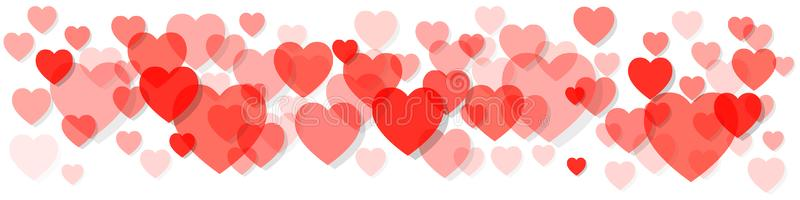 Coral Hearts Stock Illustrations.