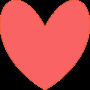Coral Heart Clip Art at Clker.com.