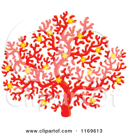 Coral red clipart #19