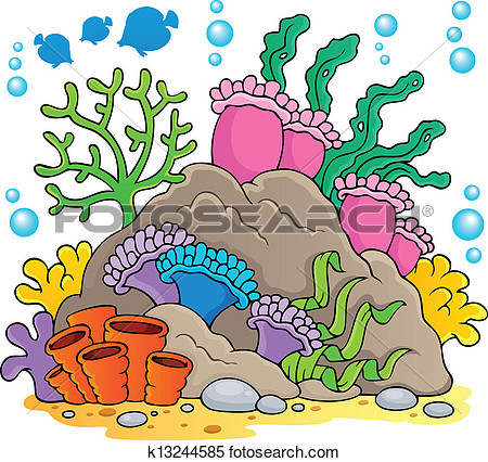 Coral reef clipart #13