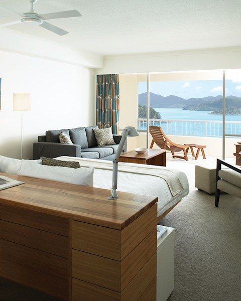 King Coral Sea View Room.