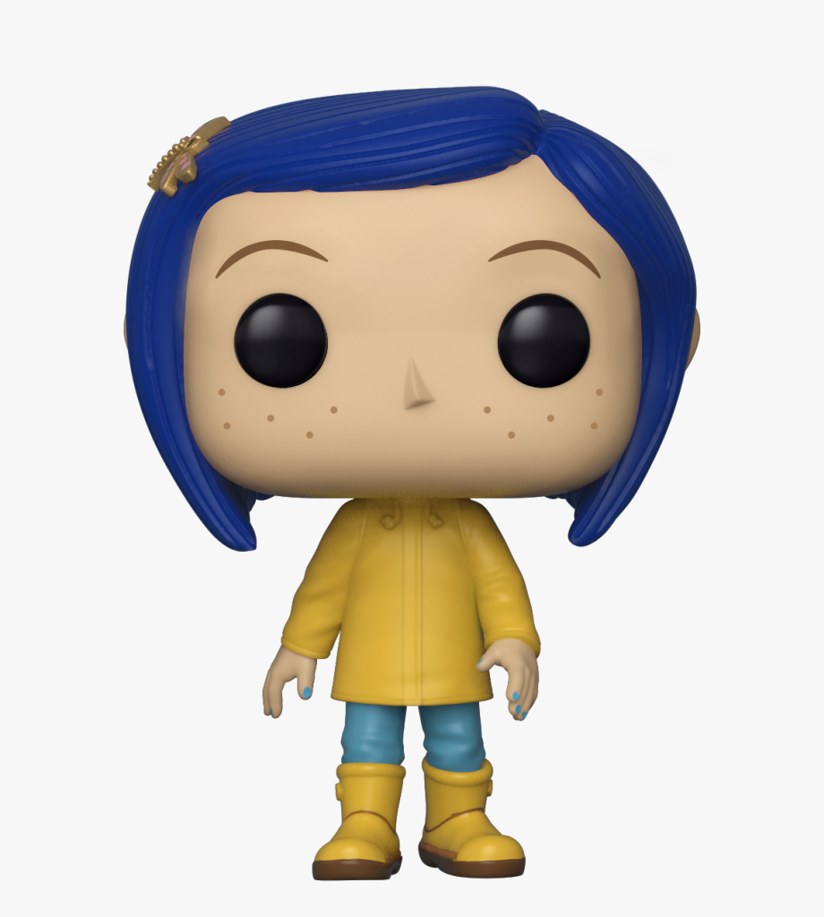 Coraline In Raincoat Pop Nz , Transparent Cartoon, Free.