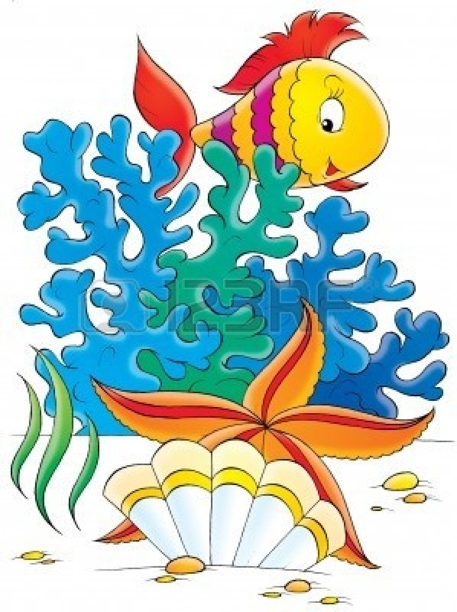 Coral Reef Fish Clipart.
