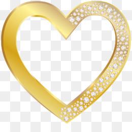 Corazón De Oro descarga gratuita de png.