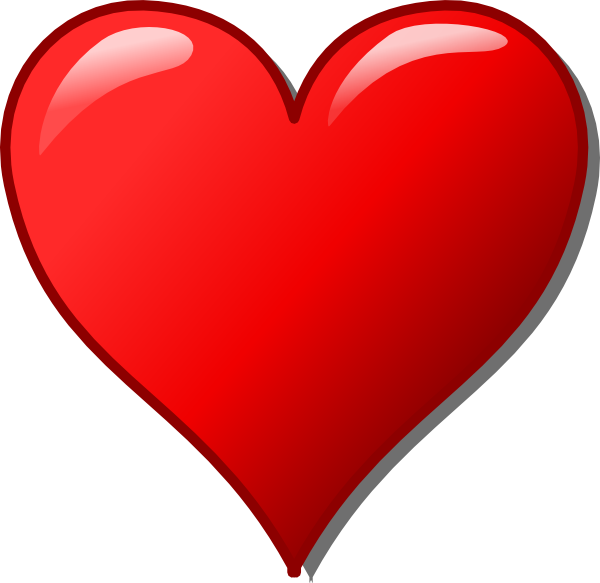 Heart 77 Clip Art at Clker.com.