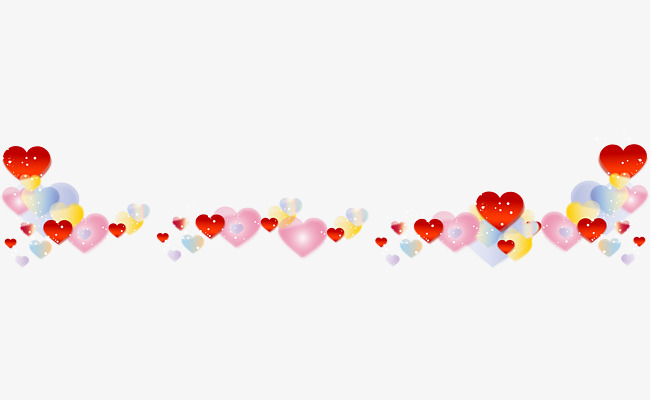 Colored Hearts, Heart Shaped, Love, Hearts PNG Transparent Image and.