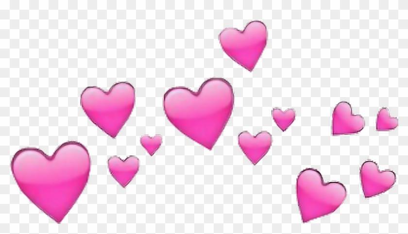 Corazones Rosa Corazon Emoji.