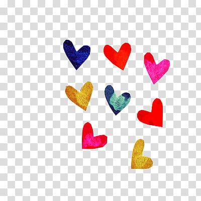 Corazones, heart illustration transparent background PNG clipart.