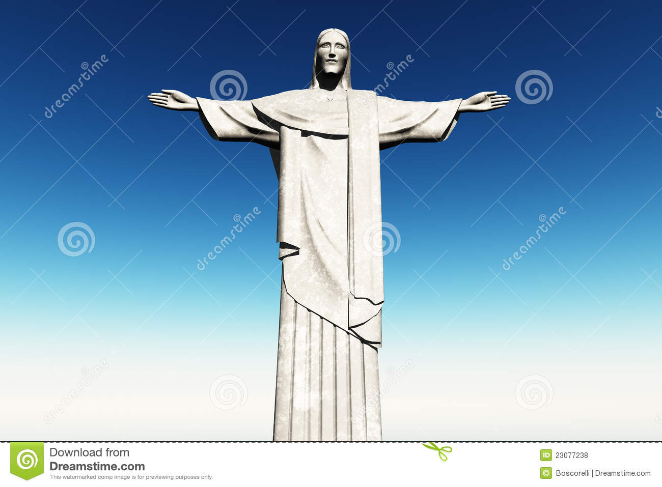 Corcovado Stock Illustrations.