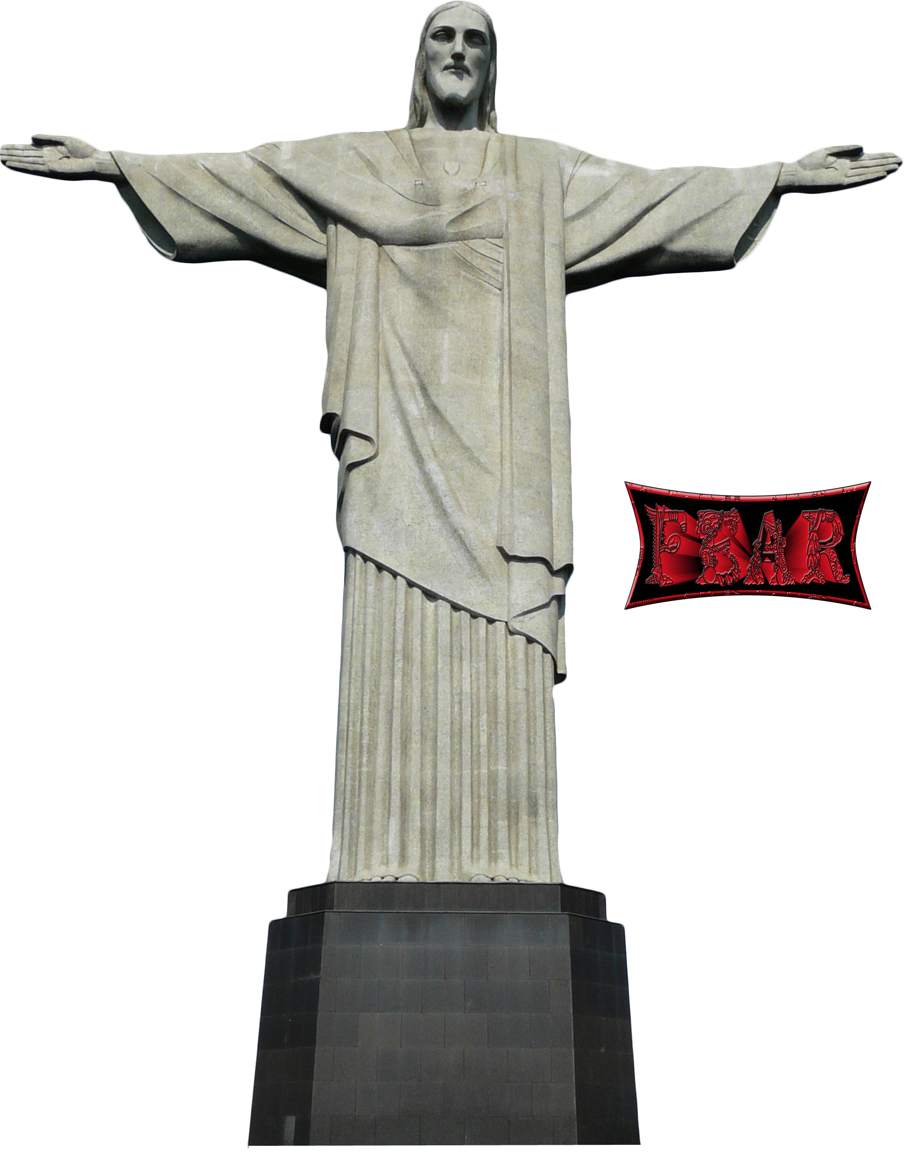 Corcovado PNG by fear.