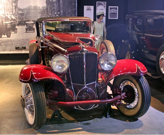 1929 Cord Cabriolet.