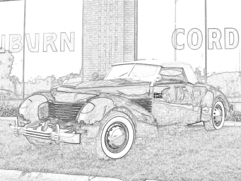 Looking for clip art of 1937 Cord.