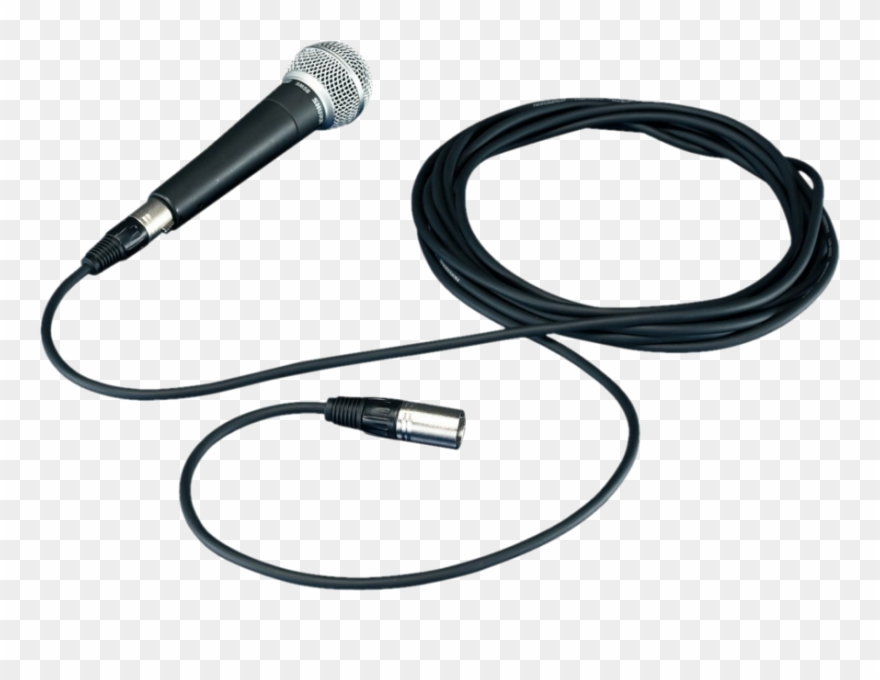 Microphone Clipart Wire Png.